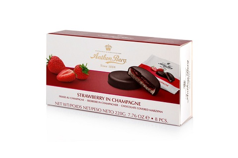 *Anthon Berg Strawberry in Champagne (ALCOHOL) 21+
