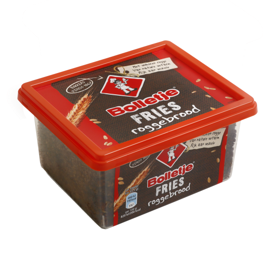 Bolletje Friese Roggebrood in tub (OUT OF STOCK - DISCONTINUED)