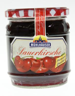 Muhlhauser Sauerkirsche Jam (Sour Cherry Jam) (ONLY 2 LEFT)
