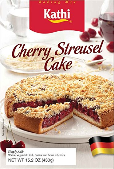 Kathi Cherry Streusel Cake Baking Mix (OUT OF STOCK)