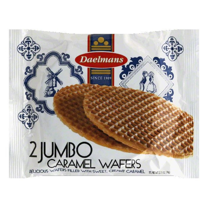 Daelmans Jumbo Stroopwafel 2 Pack(SELL BY: OCT 8 2020)