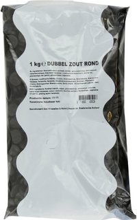 Bulk Double Salt Licorice (Dubbel Zout Rond) (5 LEFT)