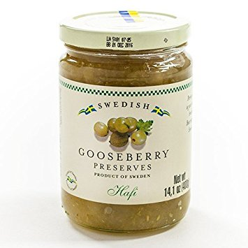 Hafi Swedish Gooseberry Preserves (ONLY 2 LEFT)