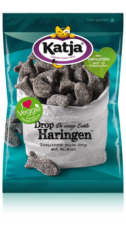 Katja Bulk Herring Drop (500 grams / 17.6 oz) (8 LEFT)