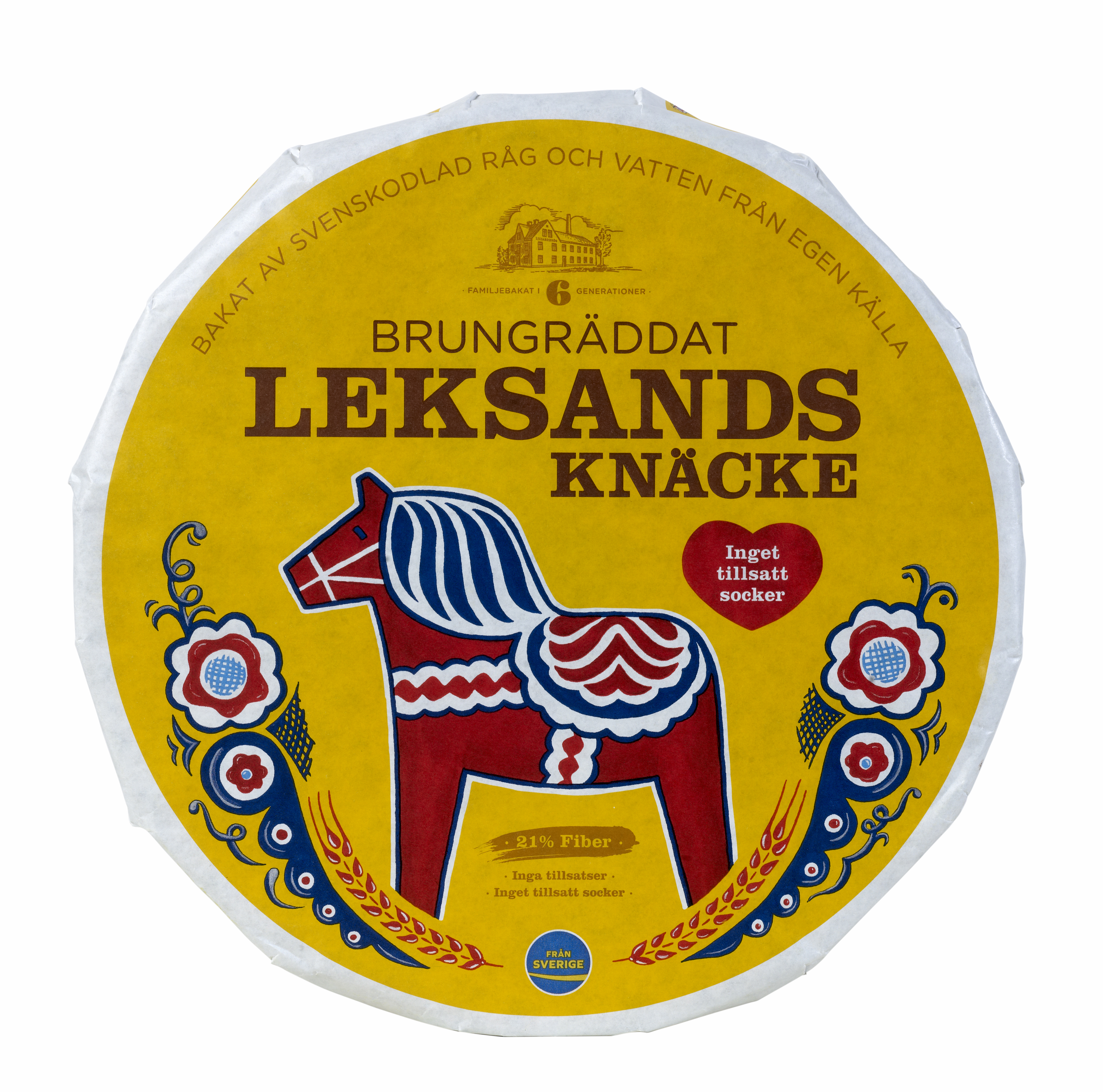 Leksands Knackebrod Wholewheat (OUT OF STOCK)