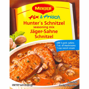 Maggi Hunter's Schnitzel (Jaeger Sahne) (OUT OF STOCK)