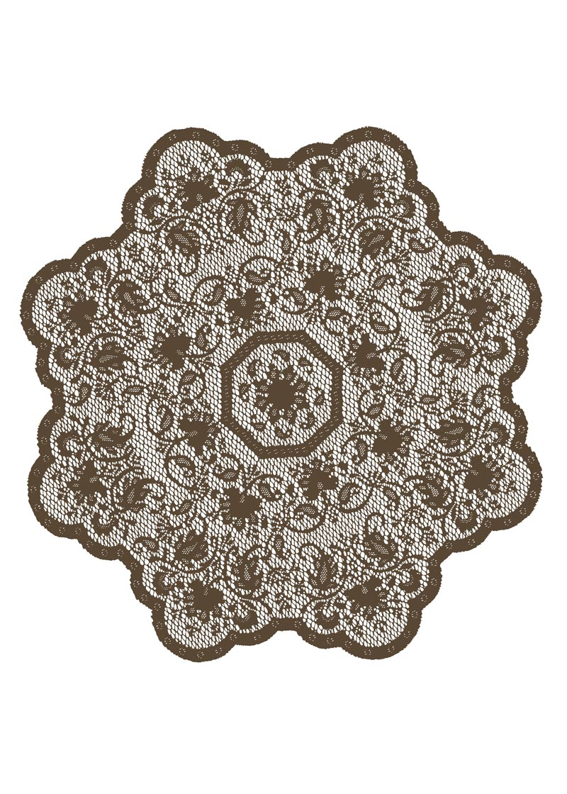 "Medallion Table Topper Earth 36"" round"