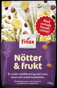 Finax Muesli Nötter & Frukt (purple)  (OUT OF STOCK)