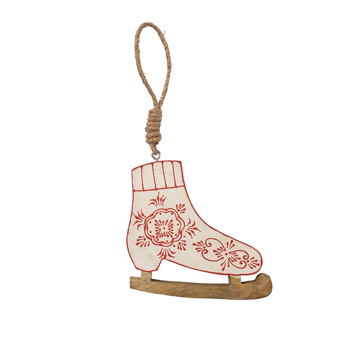 Nordic Skate Ornament (ONLY 4 LEFT)