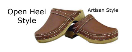 x Simson Dutch Made Leather Clogs (Artisan)x