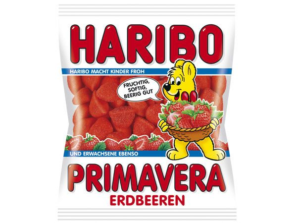 Haribo Germany Strawberry Primavera