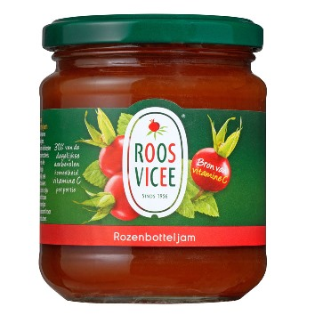 Roosvicee Rozenbottel jam (Rosehip jam) (OUT OF STOCK)
