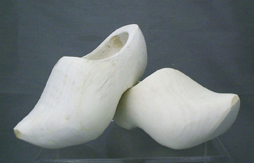 Plain Sanded Wooden Shoes