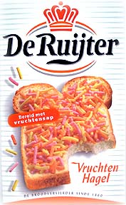 De Ruijter Fruit Sprinkles (SELL-BY APRIL 2019)